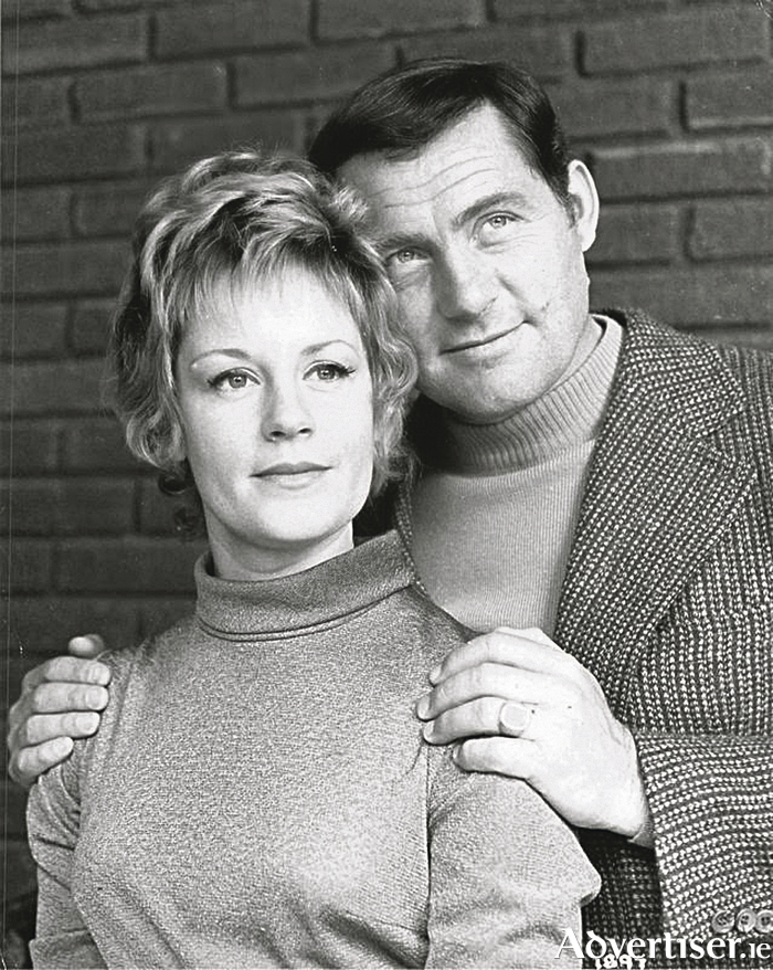 Mary Ure and Robert Shaw spent a perfect day sailing on the Ave Maria.