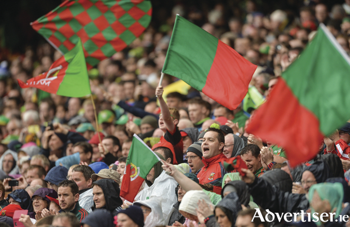 There will not be a penny left in Mayo for Christmas, with the amount of money spent by supporters in following their team this year. Photo: Sportsfile.