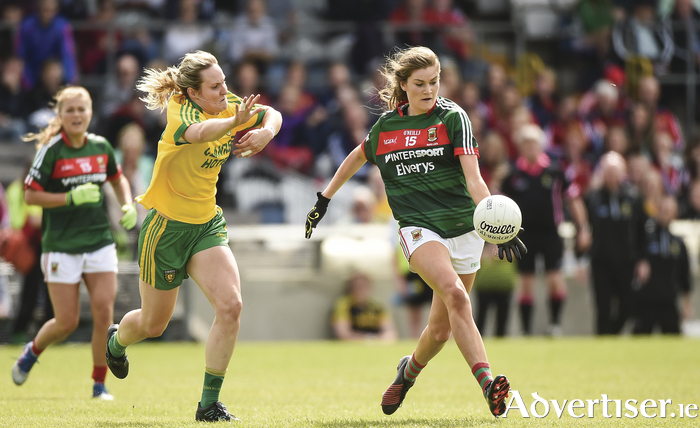 Leading light: Grace Kelly was in top class form for Mayo last Saturday against Donegal. Photo: Sportsfile.