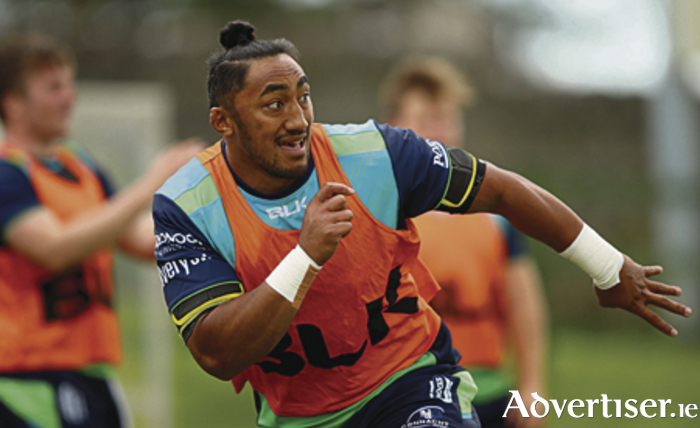 Bundee Aki is in line to play on Saturday after recovering from surgery during the summer.