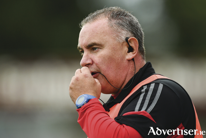 Back to the big time: Frank Browne has guided the Mayo Ladies back to the All Ireland final for the first time in a decade. Photo: Sportsfile