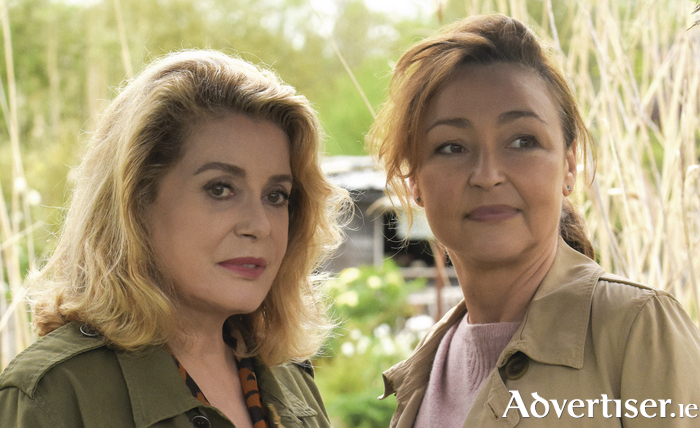 Catherine Deneuve and Catherine Frot in French film The Midwife.