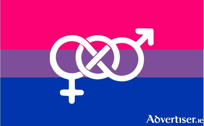 The Bisexual flag.