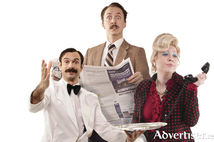 The cast of Faulty Towers: The Dining Experience