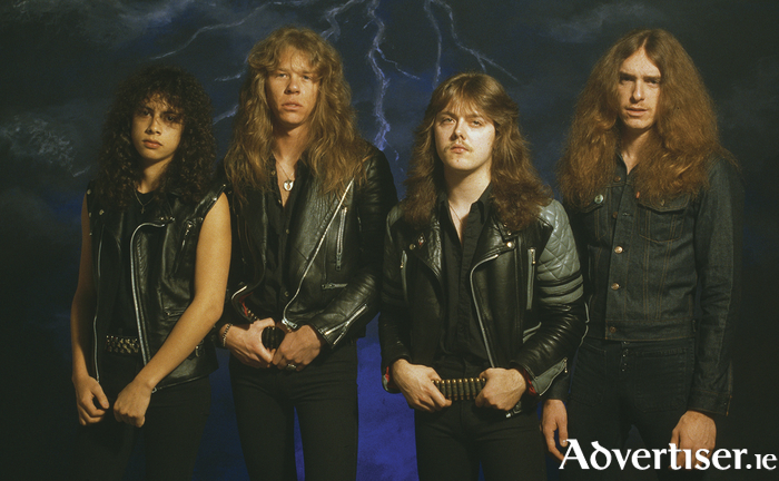 Metallica in the 1980s.