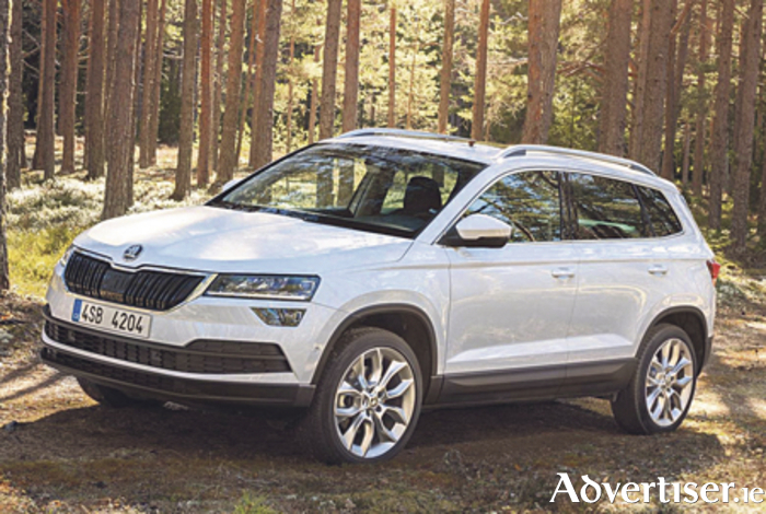 The Skoda Koroq SUV