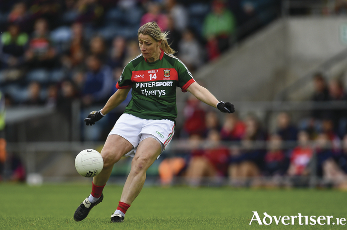 The best of the best: Cora Staunton will be looking to win her fifth All Ireland title on Sunday. Photo: Sportsfile.