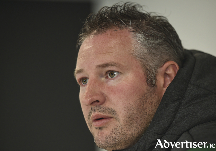 Looking for a win: Connacht forwards coach Jimmy Duffy.
