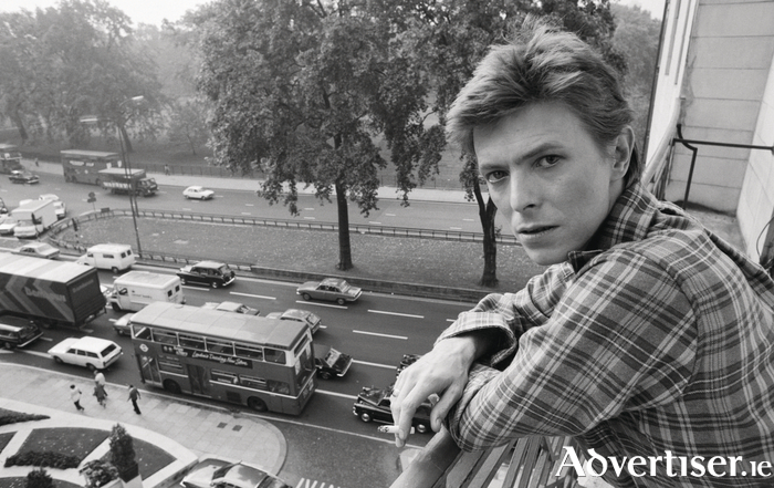 David Bowie in 1977.