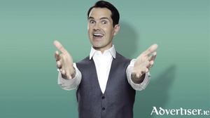 Jimmy Carr, ready to deliver his ultimate gold to Galway.