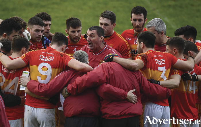 Looking to get back to winning ways: Declan Reilly will be looking for his Castlebar Mitchels side to get back to winning ways on Saturday. Photo: Sportsfile