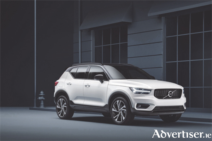The Volvo XC40 SUV