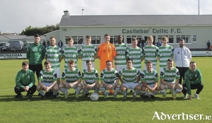 Castlebar Celtic are looking for cup glory this weekend. Photo: Castlebar Celtic
