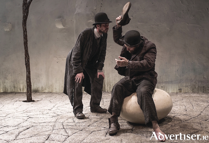 Marty Rea and Aaron Monaghan in Druid's production of Beckett's Waiting for Godot.