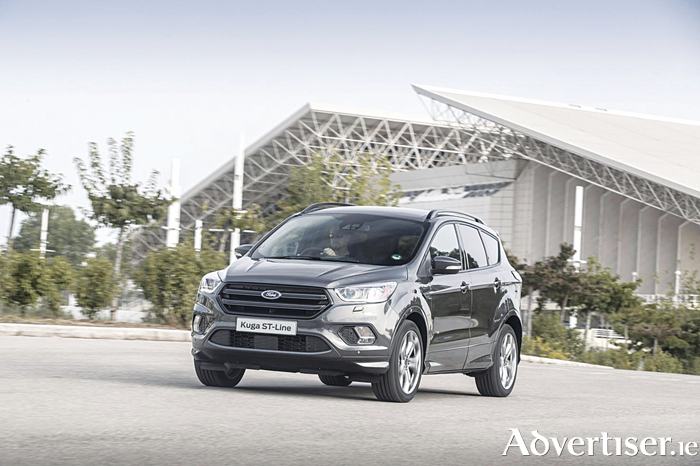 Savings on Ford's Kuga ST line in its 'Clean Up for 181' campaign.