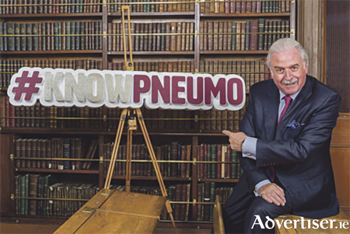 Marty Whelan launches Know Pneumo Campaign