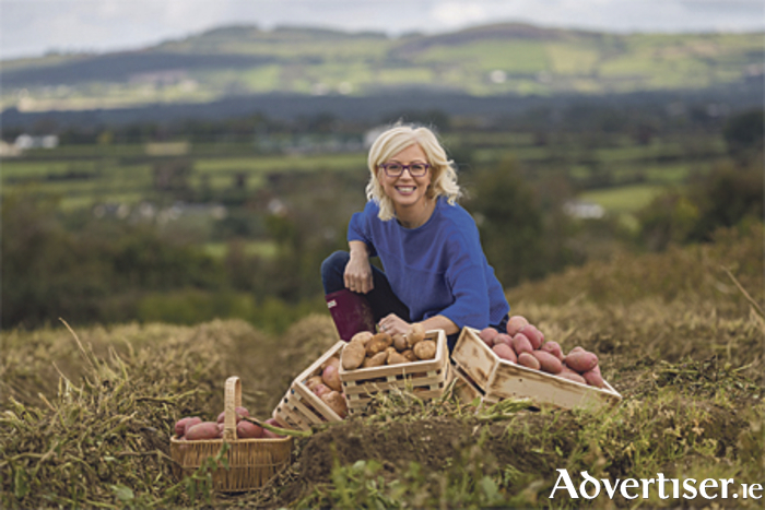 TV dietician and National Potato Day ambassador, Aoife Hearne