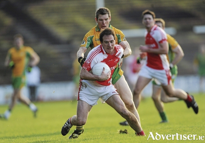 Experienced head: Alan Dillon showed all his experience on Wednesday night when Ballintubber needed it. Photo: Sportsfile
