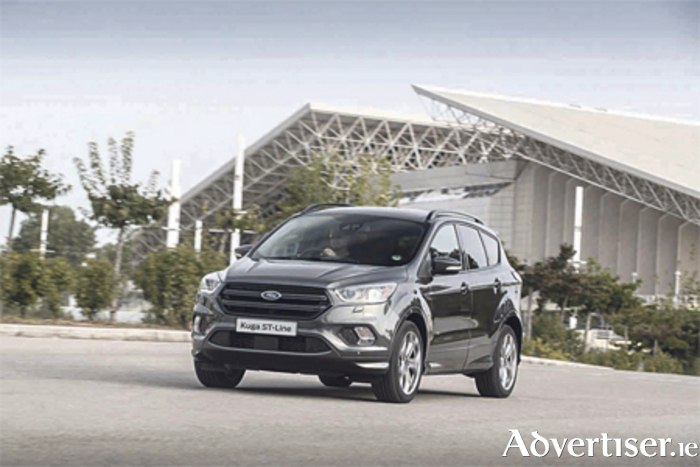 The Ford Kuga ST Line