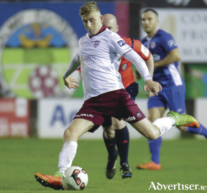 GalwayUnited's Eoin McCormack who scored against St Pats in the SSE Airtricity League at Eamonn Deacy Park on Friday night. 				 Photo:-Mike Shaughnessy
