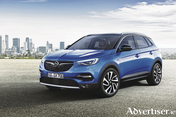 The Opel Grandland X available at JJ Fleming tomorrow.