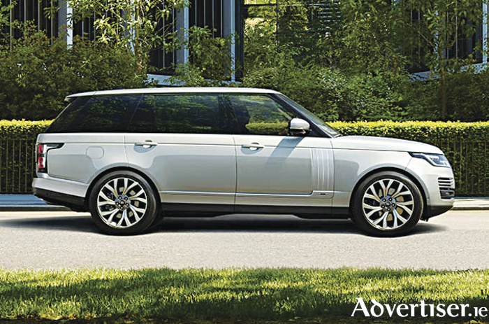 New luxury in the Range Rover hybrid.