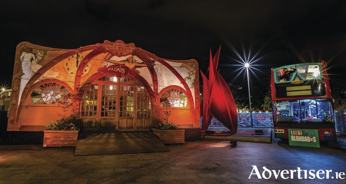 The Spiegeltent in Eyre Square. Photo:- Kernan Andrews