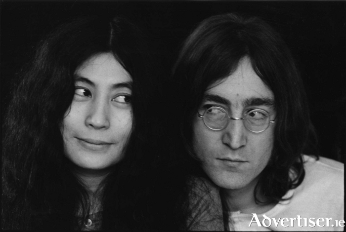 Yoko Ono and John Lennon. Photo: Susan Wood/Getty Images