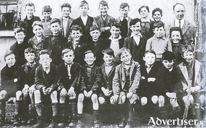 The History Boys: Pupils if St Brendan's national school in the 1930s, who took part in gathering infromation for the National Folklore Commission.