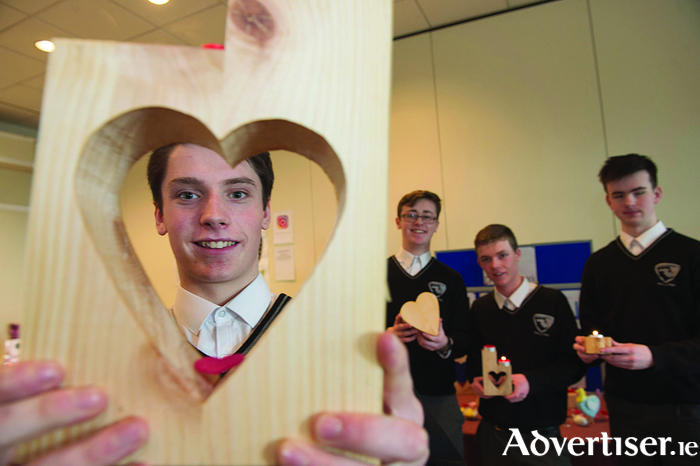 Students from Coláiste Pobail Acla who reached last year's National Final. Photo: Andrew Downes.