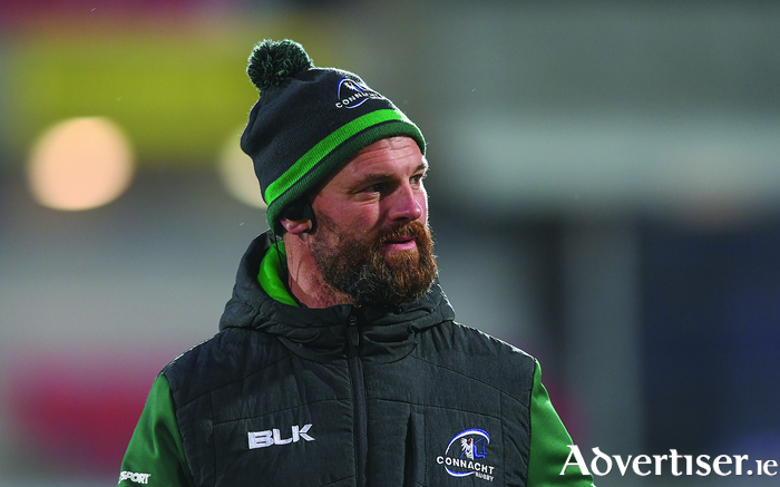 "Connacht backs coach Nigel Carolan says it is important Connacht ""stay on task"" this week to ensure another home victory. Photo: Sportsfile"