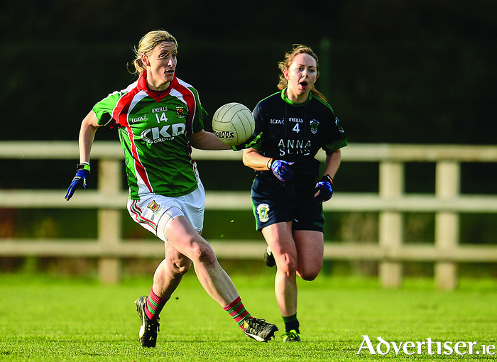 Simply the best: Cora Staunton scored 4-13 last weekend in the drawn Connacht final. Photo: Sportsfile