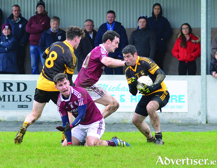 Lahardane will be looking to to book a Connacht final spot on Sunday. Photo: Lahardane GAA