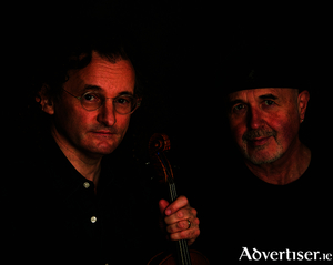 Martin Hayes and Dennis Cahill perform at the Linenhall Arts Centre in Castlebar on Monday, November 13.