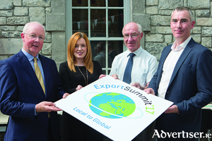 Barry Egan (Enterprise Ireland)  Elaine Moyles (Local Enterprise Office Mayo), Pádraig Ó Conghaile (Údarás na Gaeltachta), Enda Cannon (Local Enterprise Office Roscommon). Photo: Martina Regan