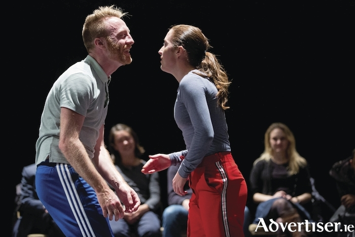 Dx2 . You and Me and You with Laura Murphy and Rob Heaslip. Photo:- Sid Scott