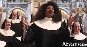 Whoopi Goldberg leads the choir in Sister Act.