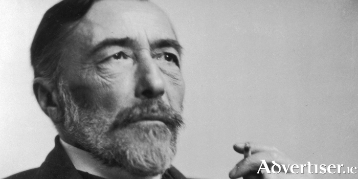 Joseph Conrad photographed in 1916.