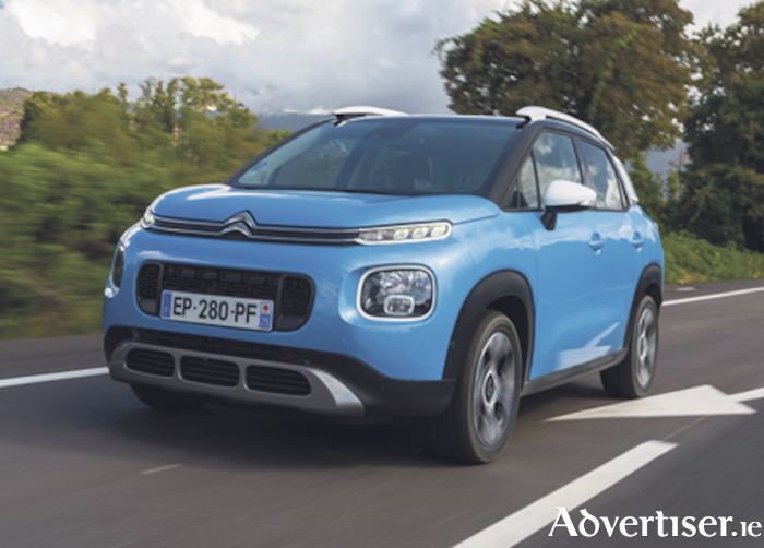 The new Citroen Aircross.