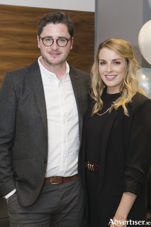 Pictured at the launch of Kingston Dental were Dr Owen O'Shaughnessy and Ailbhe O'Shaughnessy, Kingston Dental. Photo Martina Regan