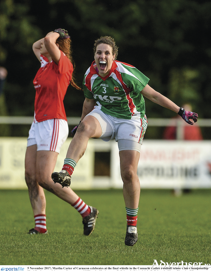 Carnacon's Martha Carter. Photo: Sportsfile