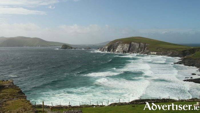 Shoreline along the Great Blasket Island.