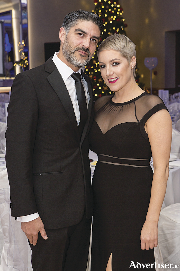 Juan Sotoparra and Kerry Quinlan, Satoparra Architecture + Design pictured at the second annual 'Act Winter Ball' in aid of Act for Meningitis in the Salthill Hotel. 
