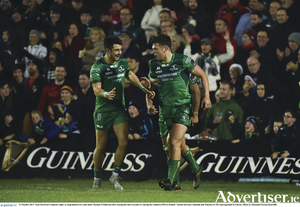 Tiernan O'Halloran and Tom Farrell will be two key players in this next series of fixtures for Connacht.