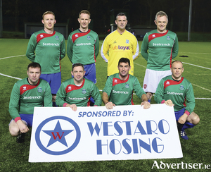 The Manulla Masters team who were involved in the game of the week in the Masters League. Photo: Michael Donnelly