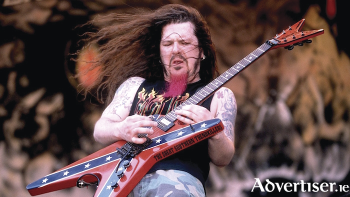The late, great, Dimebag Darrell.