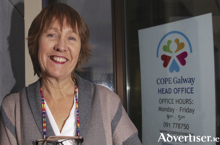COPE Galway CEO Jacquie Horan. Photo:- Mike Shaughnessy