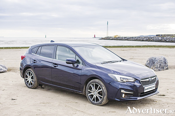 The new Subaru Impreza.