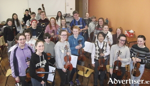 Members of the Galway Youth Orchestra.