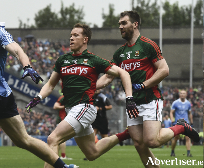 Both Donal Vaughan and Seamus O'Shea are expected to be out of action for Mayo during the league. Photo: Sportsfile